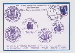 CHALEVILLE MEZIERES - 1966 FUSION DES COMMUNES - Charleville