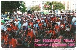 *ITALIA: 33^ PORDENONE PEDALA* - Scheda Usata - Public Practical Advertising