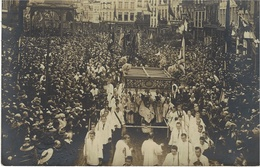 Carte-Photo - 1910 ?  Manifestation Religieuse - Photo A. Gilles-Ledoux Namur  - Oblitération  ? - Namur