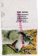 87 - BOISSEUIL - PETIT CALENDRIER 2001- CACHET SARL AUCRIS - CARREFOUR CENTRE COMMERCIAL - CHIEN HUSKY - Calendars