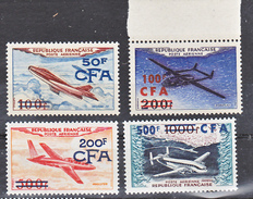 Réunion PA 52 55 Prototypes  Surchargé Neuf ** MnH Sin Charmela Cote 110 - Reunion Island (1852-1975)