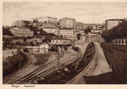 Perugia - Panorama Con La Stazione Ferroviaria - - Perugia