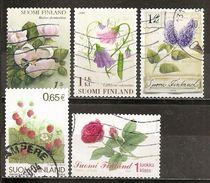Finlande Finland 200- Fleurs Flowers Obl - Used Stamps