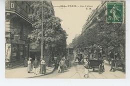 PARIS - XIVème Arrondissement - Rue D'Alésia - Arrondissement: 14