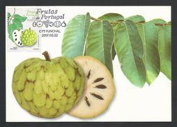 Portugal 2017 Fruits Anone De Madère Carte Maximum Madeira Anona Fruit Maxicard - Maximumkarten (MC)