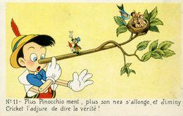 DISNEY - PINOCCHIO - Lot De 2 Cartes - Disney
