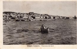 Reggio Calabria -Panorama Dal Mare - - Reggio Calabria