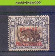 Mwe2517 FAUNA ZOOGDIEREN BEER BEREN BEARS BÄRE MAMMALS WILDLIFE NORTH BORNEO 1902 Gebr/used # READ # - Beren