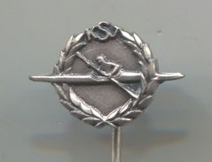 Rowing, Rudern, Canu, Kayak - KSJ / FEDERATION YUGOSLAVIA, Vintage Pin, Badge, Abzeichen, BERTONI - Rowing