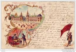 Paris - Exposition De 1900 N°41 - Palais Du Mobilier - Zanzibar - Expositions