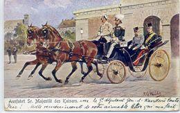 HISTOIRE - Ausfahrt Sr. Majestät Des Kaisers. Illustrateur: H.G. Wilda. - Histoire