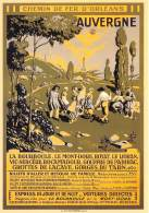 Chemin De Fer D ORLEANS Auvergne Billets D Aller Et Retour De Famille Express De Jour 6(scan Recto-verso) MA228 - Non Classificati
