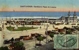 SANTANDER   SARDINERO PASEO DE LINARES   Tram  Tranvia - Cantabria (Santander)