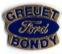 FORD - F11 - GREUET BONDY Verso : DISTRI-SNAP - Ford