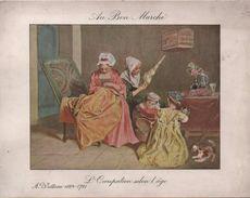"""Grande Image """"Au Bon Marché""""/L'Occupation Selon L'Age/Watteau  /Maison A Boucicaut/ Draeger/ Vers1900  IMA237 - Au Bon Marché"""