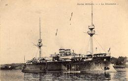 Marine Militaire Francais   -  'Le Dévastation'  -   Croiseur  Cuirassé   -  CPA - Guerre