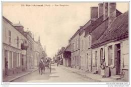 18 - Henrichemont - Rue Dauphine - Henrichemont