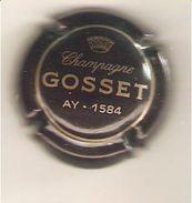 CAPSULE MUSELET CHAMPAGNE GOSSET (or Sur Marron Foncé Ou Noir) - Gosset