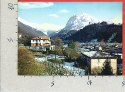 CARTOLINA VG ITALIA - USSITA (MC) - Panorama E Veduta Del Monte Bove - 10 X 15 - ANN. 1965 - Macerata