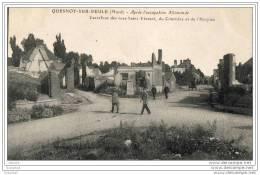 59 - Quesnoy-sur-deule - Carrefour Des Rues Saint-vincent, Du Cimetière Et De L´hospice - Sonstige Gemeinden