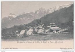 Choex - Monument Celtique De La Fin Du Bruit - Monthey - VS Valais