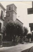 CPSM 13 ROQUEVAIRE L'EGLISE LE MONUMENT BOUCHERIE PATISSIER - Roquevaire