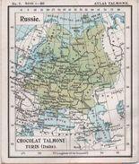 Image/Atlas Talmone/RUSSIE/Chocolat TALMONE/Spécialité Maison Talmone/Bouchées De Dame/ Italie /TURIN/Date?      IMA240 - Chocolat