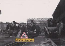 Locos Pacific 231E, Ten Wheel 230D Et Hudson 232S Au Dépôt De La Chapelle, à Paris (75) - - Equipment