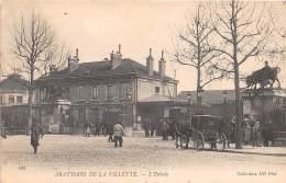 75- PARIS 19  / 751111 - Abattoirs De La Villette - L'entrée - Paris (19)