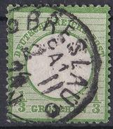 5_ Deutsches Reich - Mi.Nr. 2 - Gestempelt Used - Gebruikt