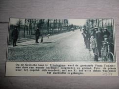 Origineel Knipsel ( 805 ) Uit Tijdschrift :  Erondeghem  Erondegem    1934 - Unclassified