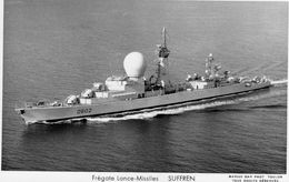 Marine Militaire Francais   -   'Suffren'  -  Frégate Lance-Missiles  -  Marius Bar CP - Krieg