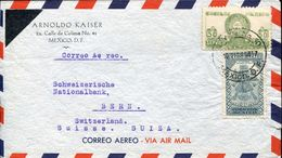 25946 Mexico,  Cover  Circuled  From Mexico To Switzerland - Mexico