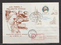 Pologne ~  1987 SS Jean Paul II   Bloc N° 113 Oblitéré  (recommandé) - 1944-.... República