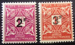 COTE D'IVOIRE                 TAXE 17/18                 NEUF** - Unused Stamps