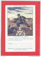 GUERRE DE CRIMEE 1854 SABASTOPOL 2 REGIMENT GENIE SAPEUR JEAN PORTANT SECOURS AU VOLTIGEUR FRANCHISE MILITAIRE ASPIRINE - Guerres - Autres