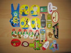 Lot De 23 étiquettes Fruits (Labels) - Obst Und Gemüse