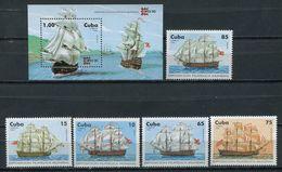 Cuba 1996 / Ships MNH Barcos Bateaux Versand / Cu4925  40 - Barcos