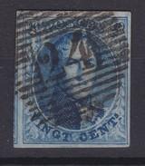 N° 11 A Margé  Voisn Perception 24 BXL - 1858-1862 Médaillons (9/12)
