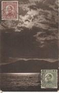 Susak. Carte Avec Timbres De Slovénie. Cachet De Croatie. Signée R. De Werenbach. 1923 - Croatie