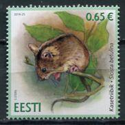 Estonia 2016 / Mammal Rodent MNH Mamifero Roedor Säugetiere / Cu4418  40-18 - Roedores
