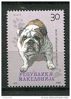 (cl 24 - P20) Macédoine ** N° 441 - Chien : Le Bouledogue - - Macédoine