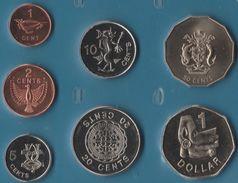 SOLOMON ISLANDS COIN SET 7 MONNAIES 5 CENTS - 2 DOLLARS 2005 - Salomonen