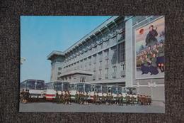 """PYONGYANG - Maison De La Culture """" 8 Février """" : Vue De Derrière - Corée Du Nord"""