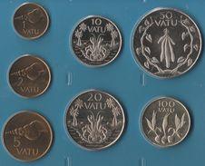 VANUATU COIN SET 7 MONNAIES 1 VATU - 100 VATU 1999 - 2009 ANIMALS - Vanuatu