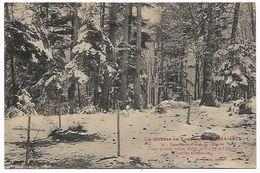 LA GUERRE EN LORRAINE 1914 1915 - Tombes Allemandes Au Col De La Chipote - Guerre 1914-18
