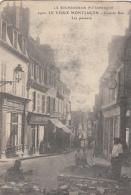 LE VIEUX MONTLUCON         GRANDE RUE.     LES PAVEURS - Montlucon