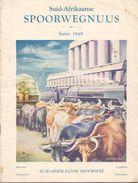 Brochure Toerisme Tourisme - Zuid Afrika - Suid Afrikaanse Spoorwegnuus - Spoorwee - Spoorwegen 1948 - Dépliants Touristiques