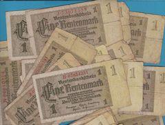 Deutsche Rentenbank LOT + 30 1 Rentenmark 30.01.1937 P# 173 - [ 4] 1933-1945 : Troisième Reich