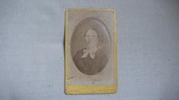 Photo 19ème S. Portrait De Femme Sur  Carton Cliché Apollony, Chalon Sur Saône (71) - Photos